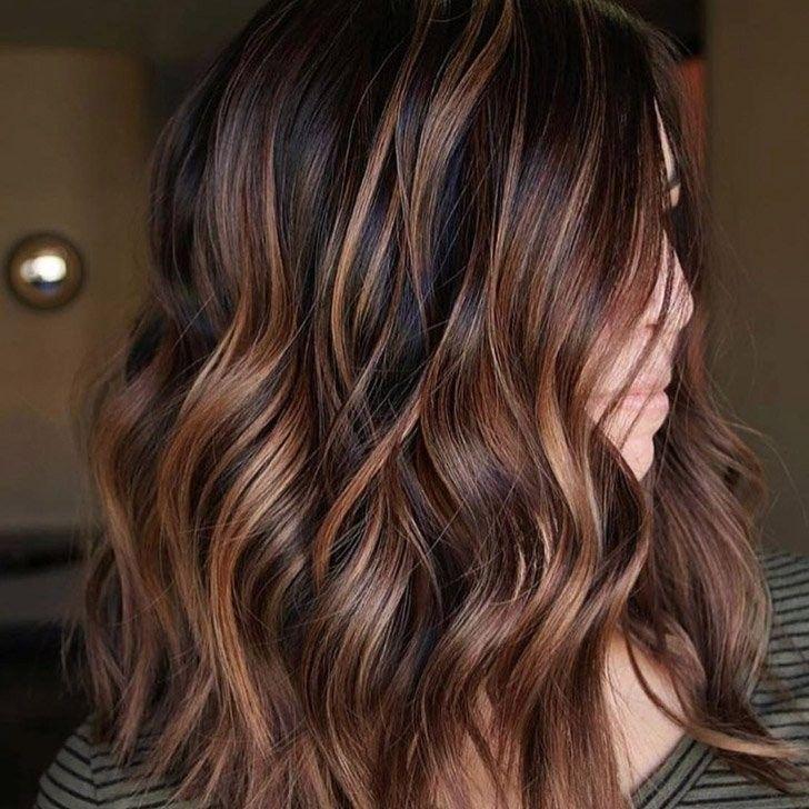 20 Wunderschöne Dunkle Braune Haare Mit Highlights Ideen Sieh Es