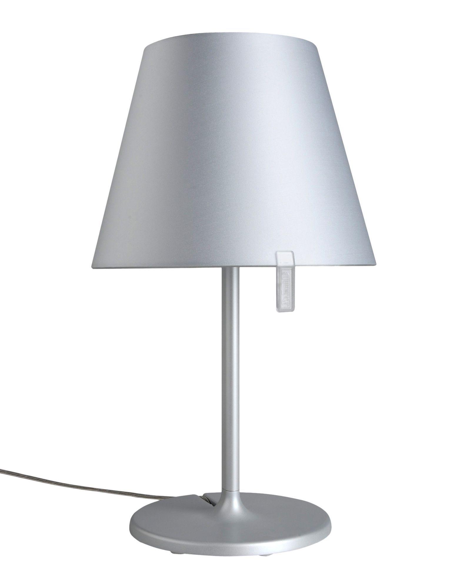 lampada da tavolo melampo grigio design adrien gard re for