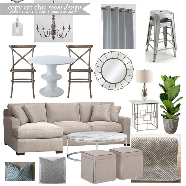 Combined Living Room And Dining Room Ideas: Alex Stewart Living/Dining Room 41513