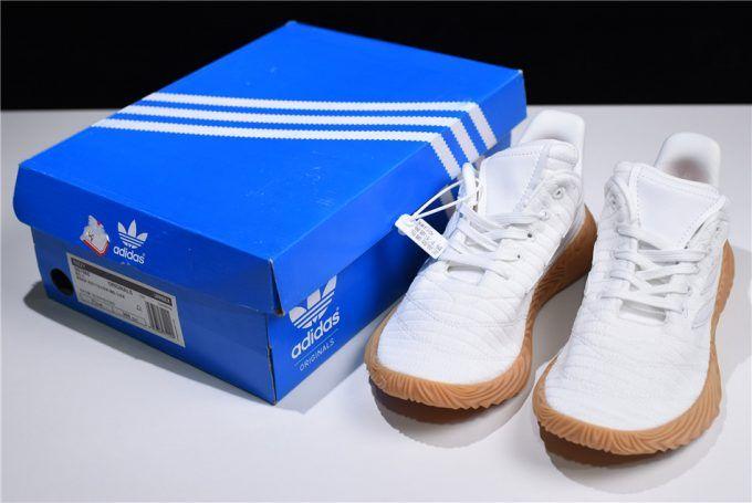 656c3f49597291 2018 New Adidas Originals Sobakov White Gum Shoes BB7666 Outlet ...