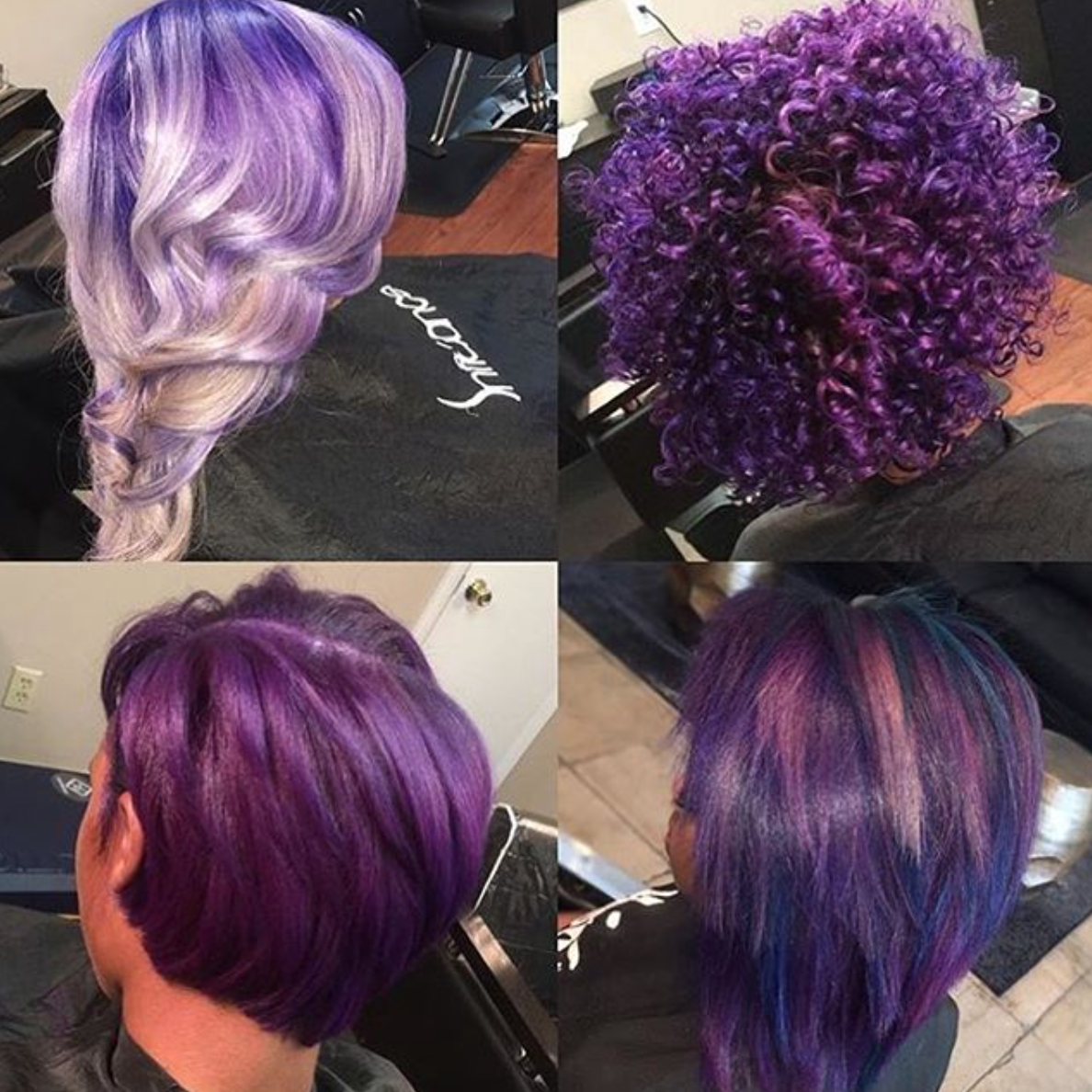 Gorgeous purple hairbyjoya read the article here