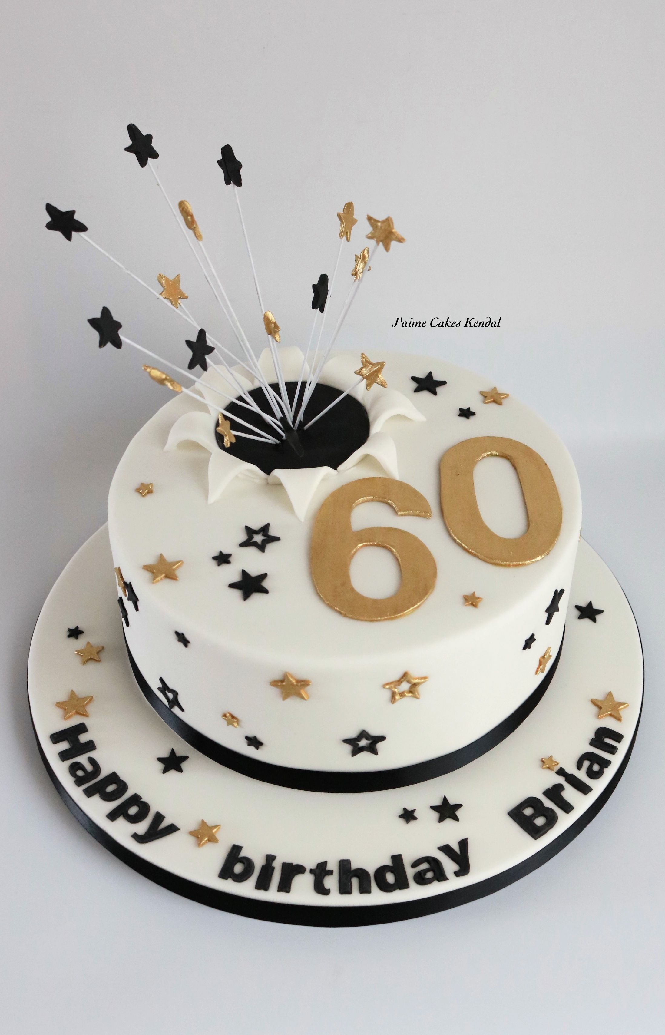 Mens 60th Birthday Cake By Jaimecakeskendalcouk