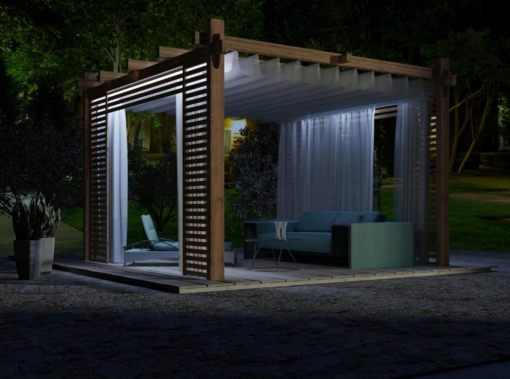 Altana Altanka Pergola Taras Markiza Przesuwna 7419013345 Oficjalne Archiwum Allegro Pergola Backyard Oasis Outdoor Decor
