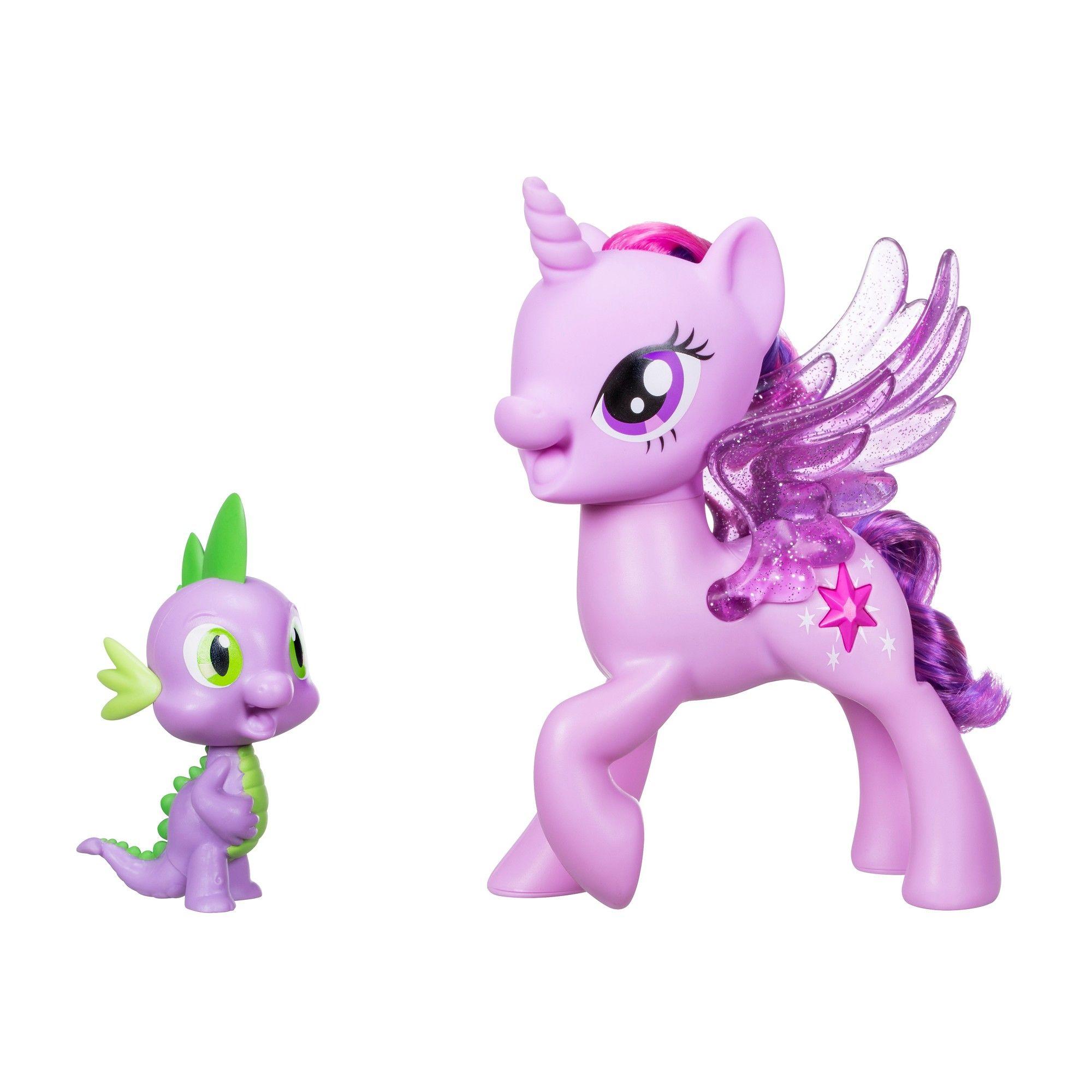 My Little Pony Princess Twilight Sparkle Spike the Dragon Friendship ...