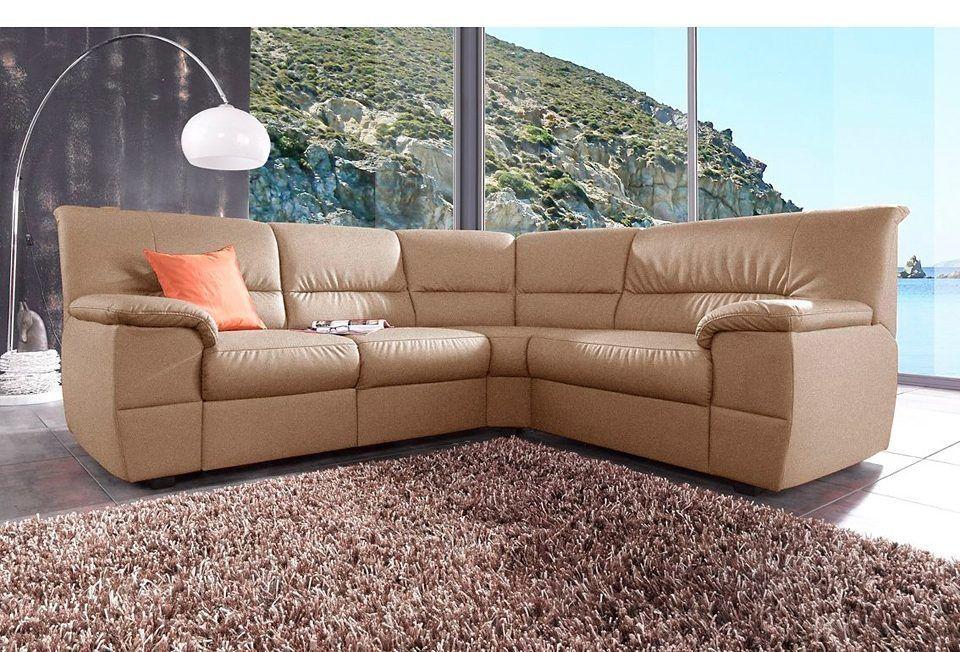 sitmore Polsterecke braun, Langer Schenkel links, FSC®-zertifiziert - wohnzimmer design braun