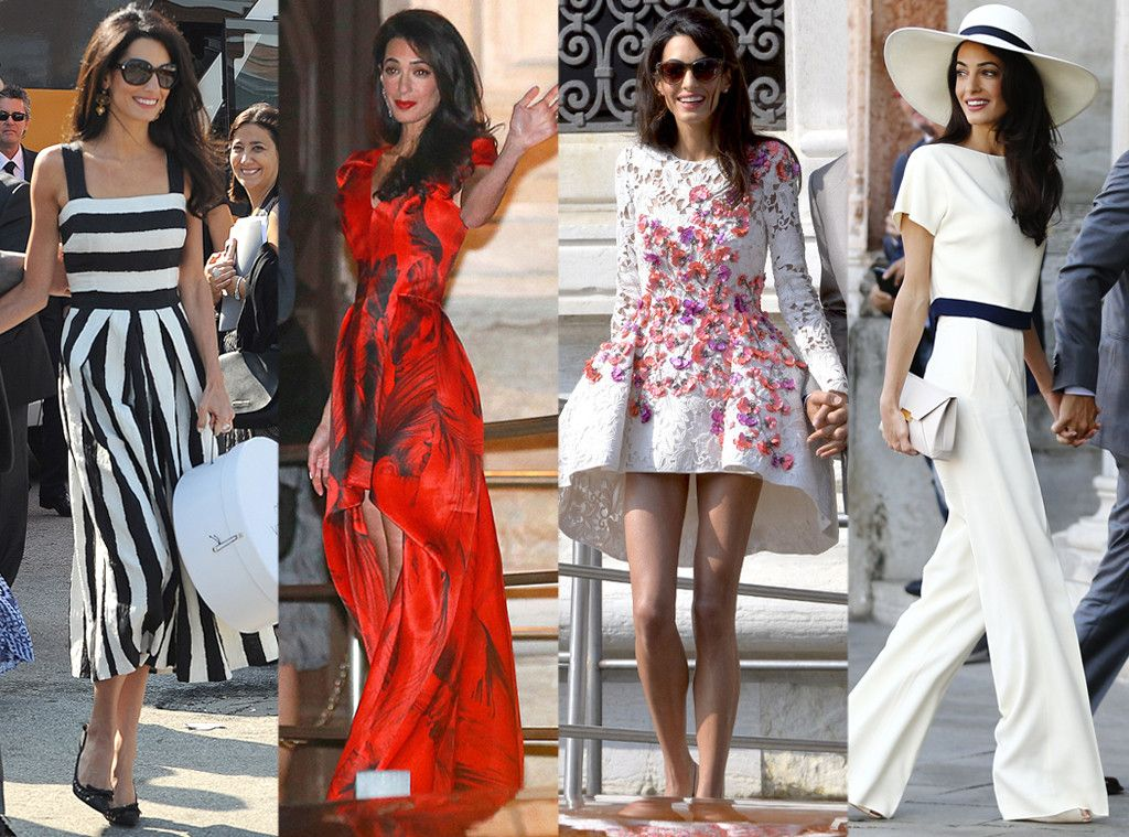 Find Out Which Iconic Designer Created Amal Alamuddin's