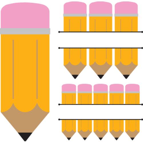 Pencil SVG cutting file