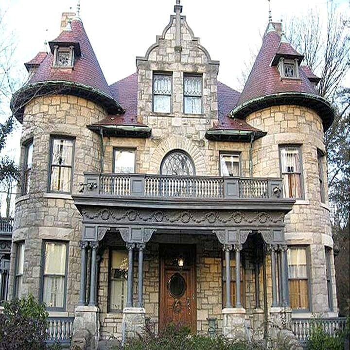 55 Gorgeous House Stone Revival Style Ideas Freshouz Com Victorian Homes Gothic House Architecture