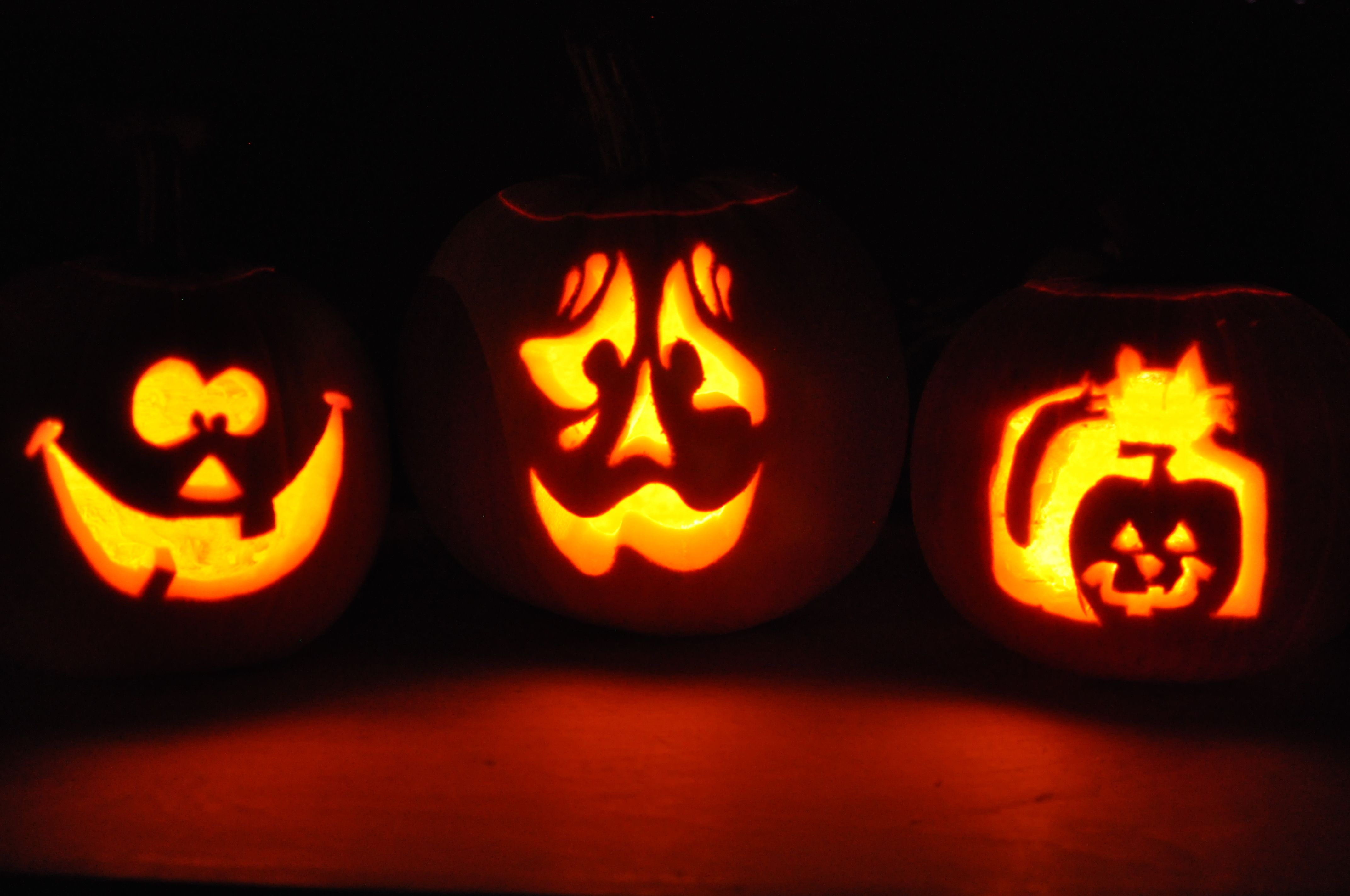 Intagliare Zucca Per Halloween Disegni come intagliare la zucca per halloween | zucche intagliate