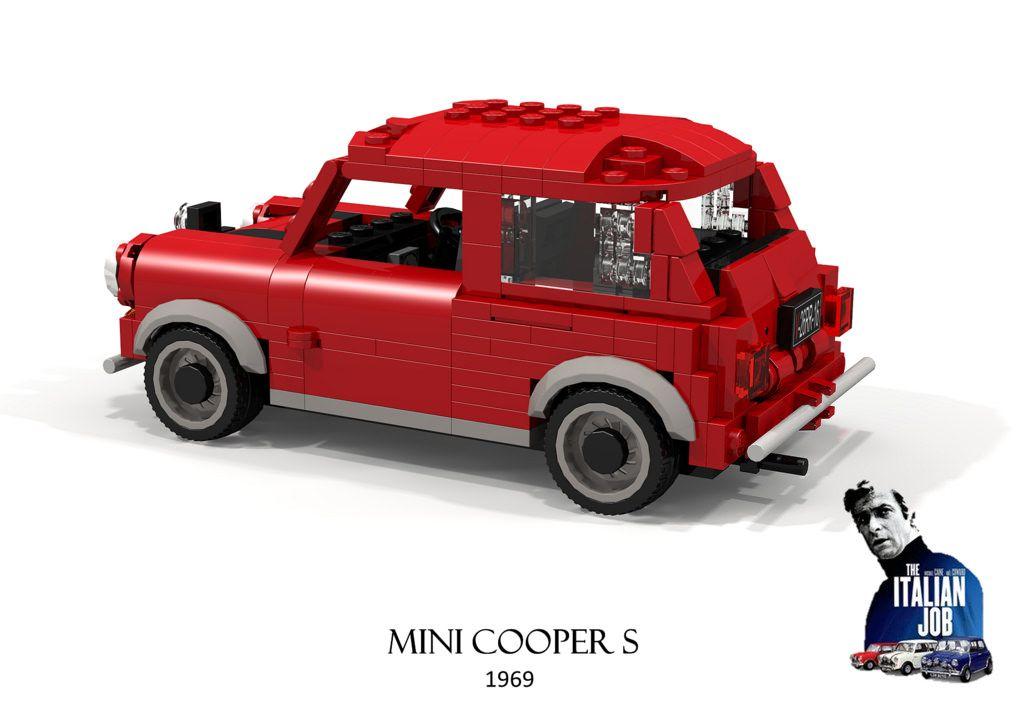 Mini Cooper S 1969 The Italian Job Mini cooper s