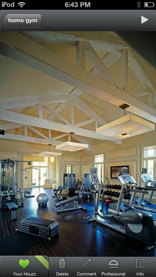 Home gym above the garage barn ideas home gym design dream