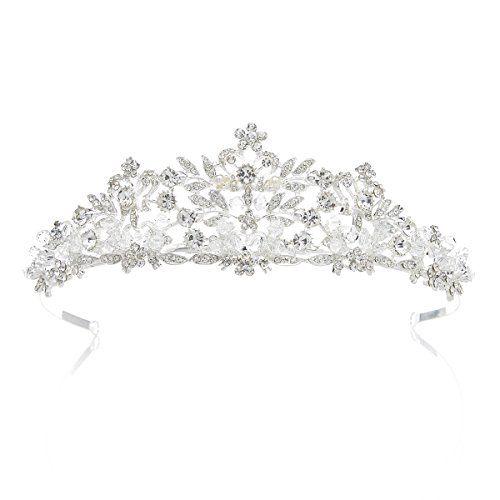SWEETV Fairytale Rhinestone Princess Tiara Headband