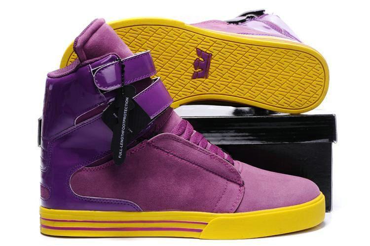 supra tk purple yellow