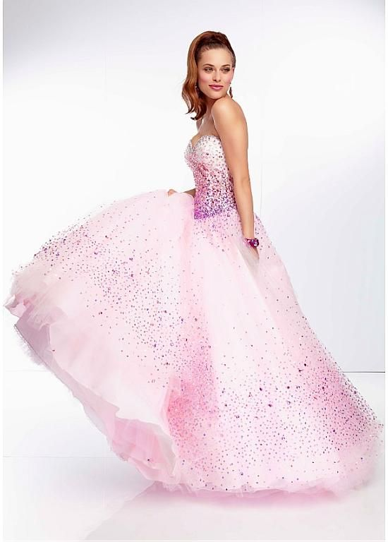 Glorious Tulle Sweetheart Neckline Floor-length Ball Gown Prom Dress