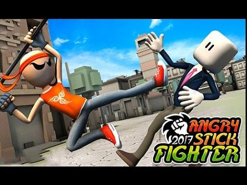 Angry Stick Fighter 2017 | Stickman Animation | Stickman