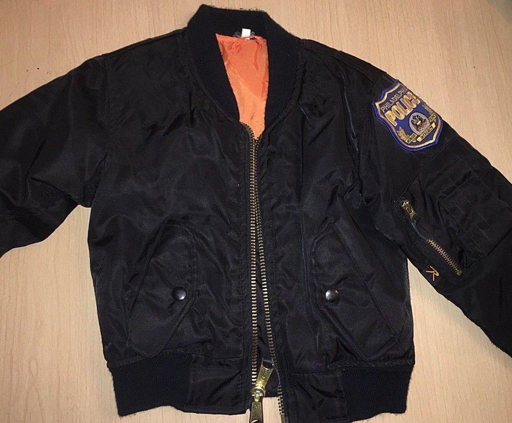 Toddler Sz Xs Black Bomber Jacket Rothco Ma 1 Flight Philadelphia Police Patch Fashion Clothing Shoes A Black Bomber Jacket Unisex Clothing Bomber Jacket [ 827 x 1000 Pixel ]