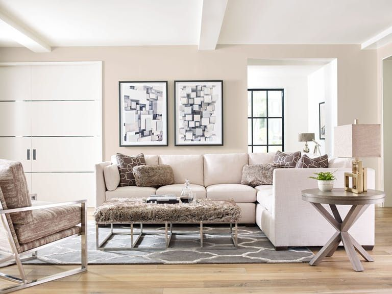 Rachael Ray By Craftmaster Living Room Sectional   Tyndall Furniture  Galleries, INC   Charlotte, Mooresville, Pineville NC And Fort Mill, SC
