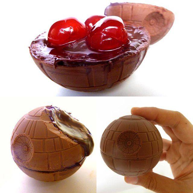 Chocolate Cherry Death Star