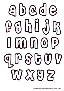 Moldes De Letras Para Imprimir Imagenes Y Dibujos Para Imprimir Lettering Alphabet Lettering Practice Lettering Fonts
