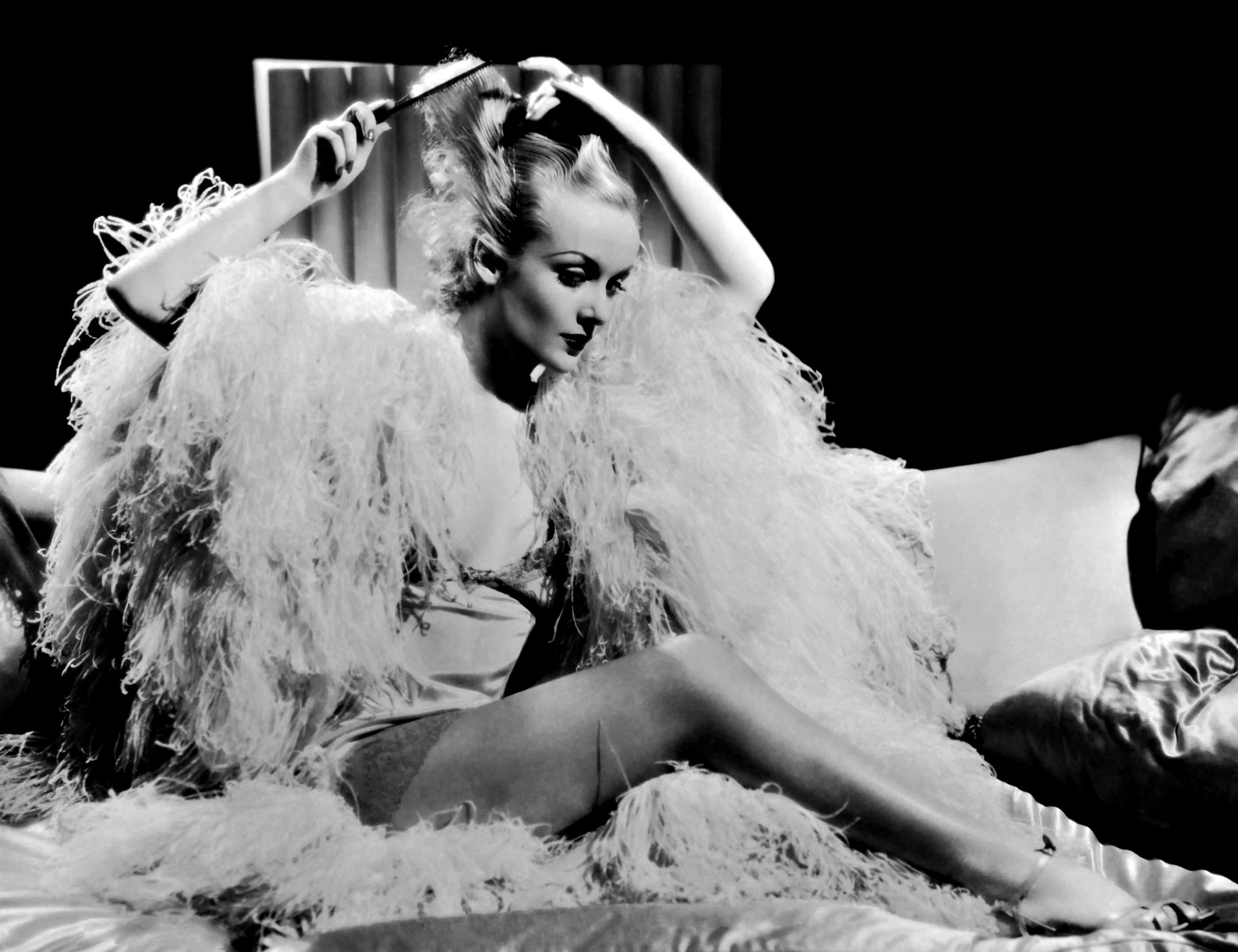 Actress, Carole Lombard (October 6, 1908 – January 16, 1942) - Birth name: Jane Alice Peters - Birth place: Fort Wayne, Indiana - Place of death: Mount Potosi, Nevada (plane crash) - Wife of actor, Clark Gable