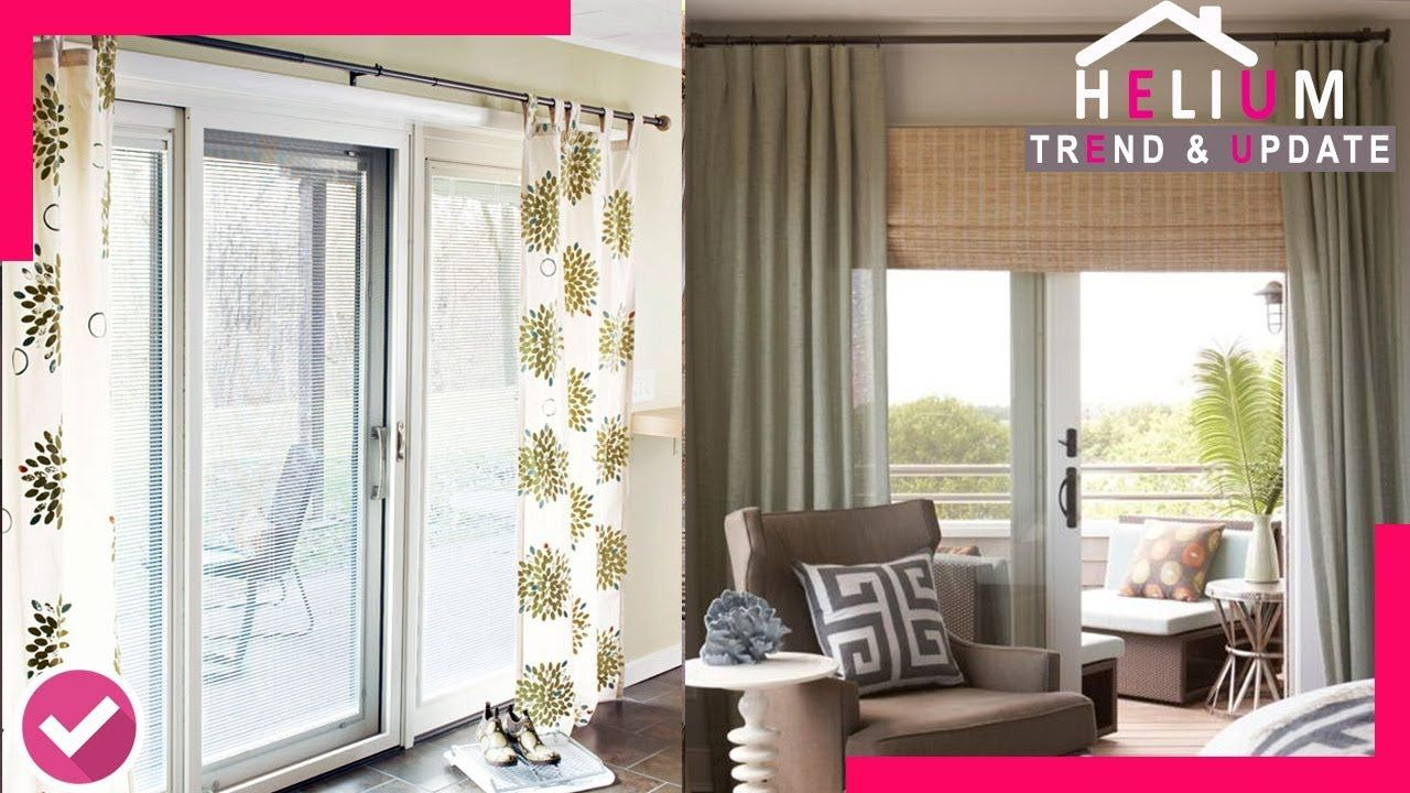 WOW!!! 60+ Best Curtain Ideas for Sliding Doors You'll Ever Use - HELIUM