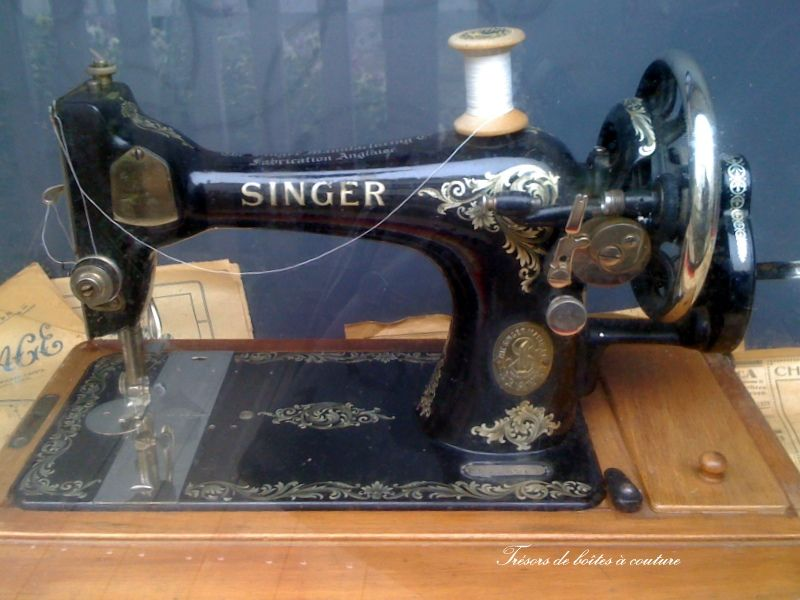 machine coudre singer sewing fabric