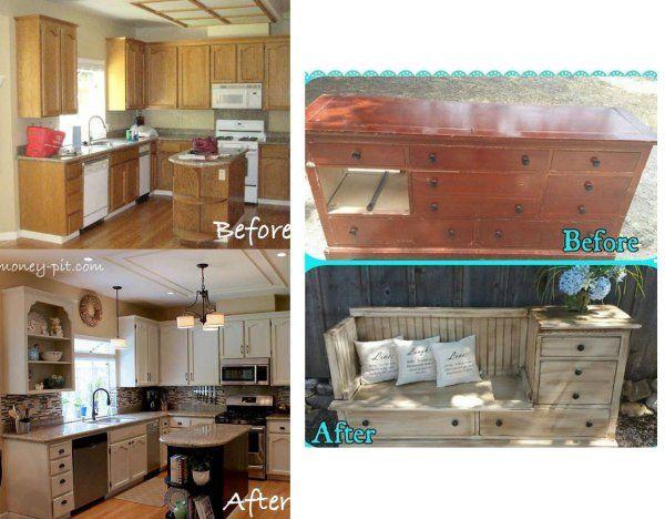 Nie Wyrzucaj Starych Mebli Zobacz Tez Przemiane Tej Kuchni Home Decor Home Decor