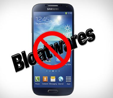 Tips to Remove Unwanted Apps from Samsung Galaxy S4 to