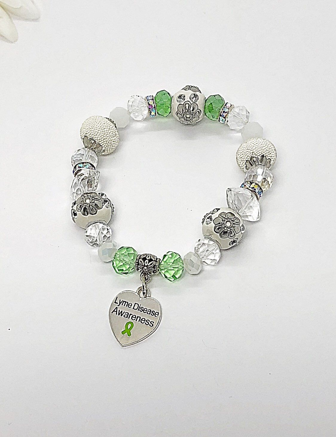 Excited To Share This Item From My Etsy Lyme Disease Awareness Bracelet