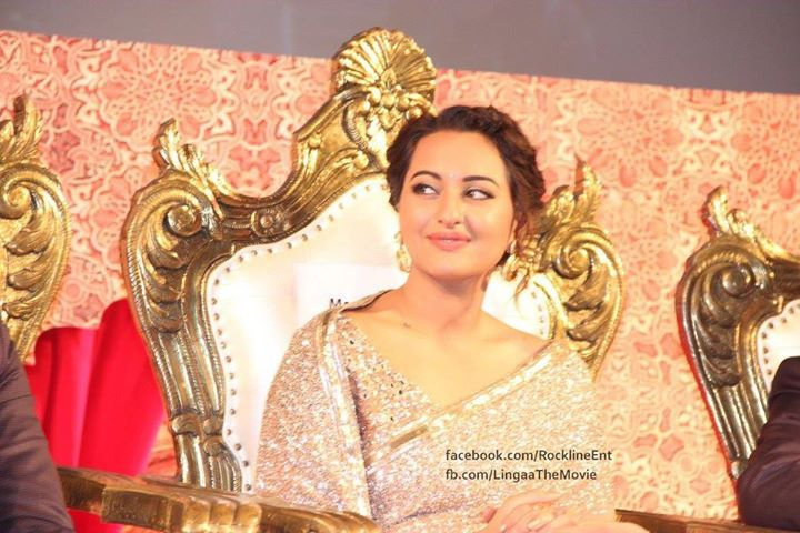 Sonakshi Sinha at Lingaa Music Launch