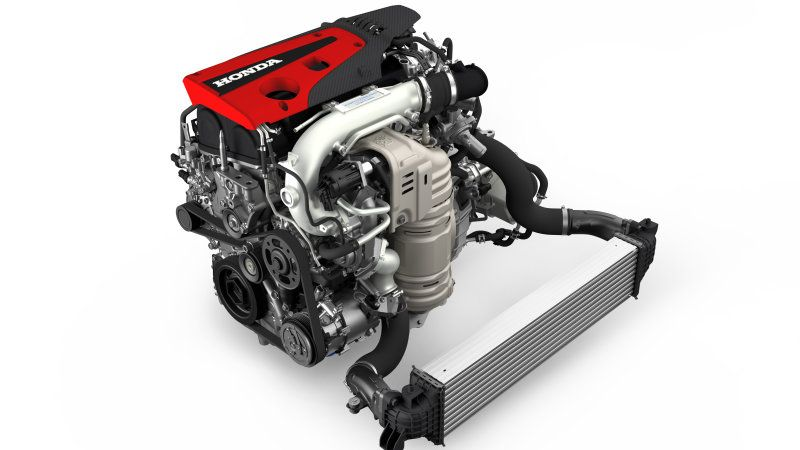 Honda Civic Type R K20c1 Turbocharged Crate Engine Debuts At Sema Honda Civic Type R Crate Motors Crate Engines