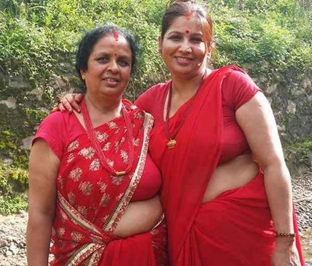 Village aunties South Indian