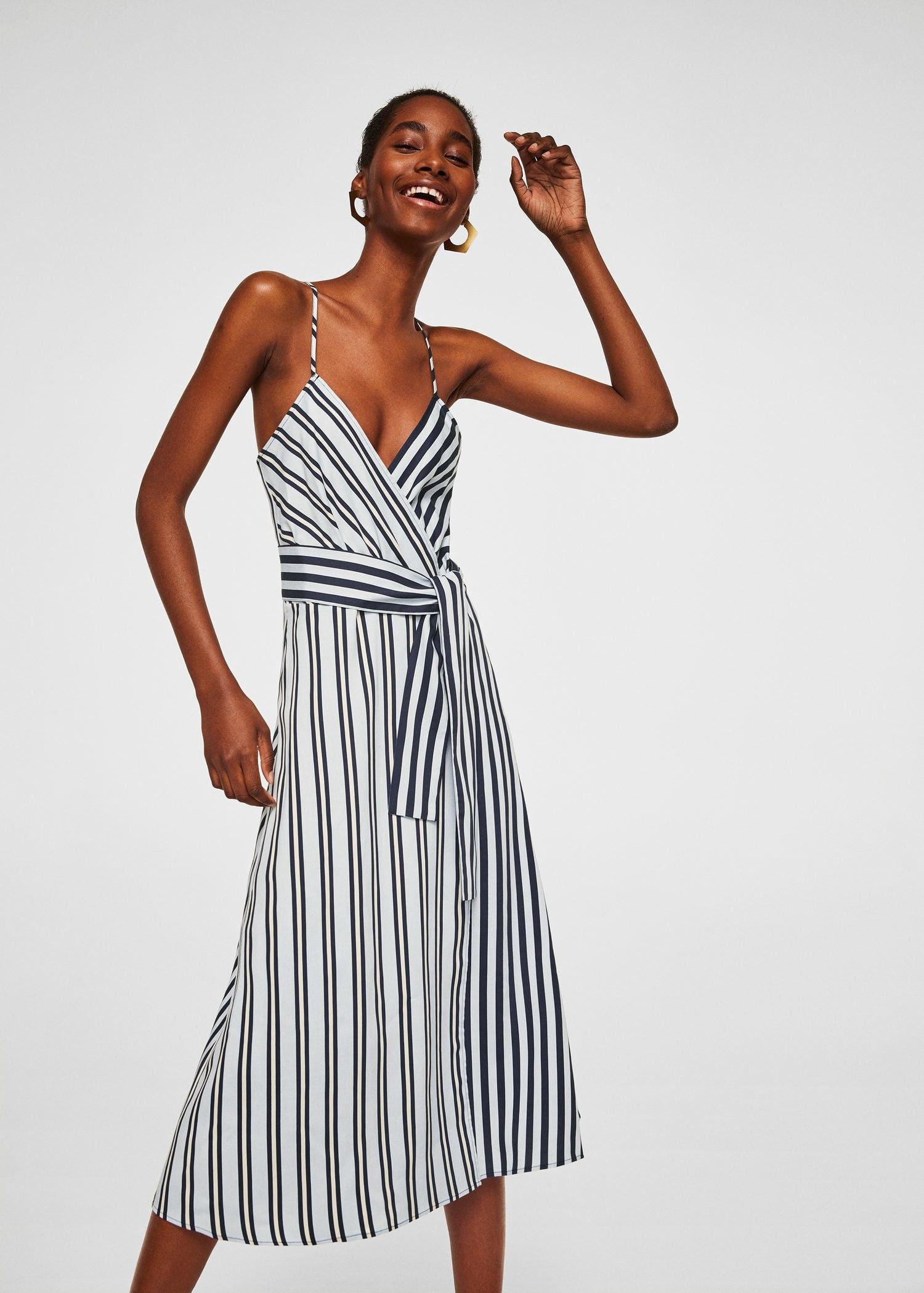 Mango Striped Wrap Dress - Women   6   Products 64040ff742e2