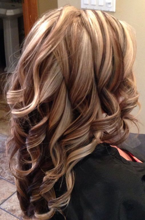 Brown Hair With Blonde Highlights And Auburn Lowlights Spring
