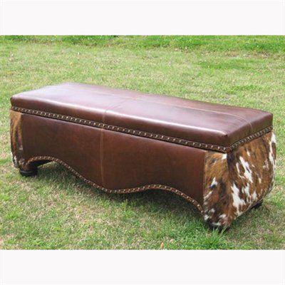 Wonderful Country Road Furniture 1900B Old World Western Storage Bench
