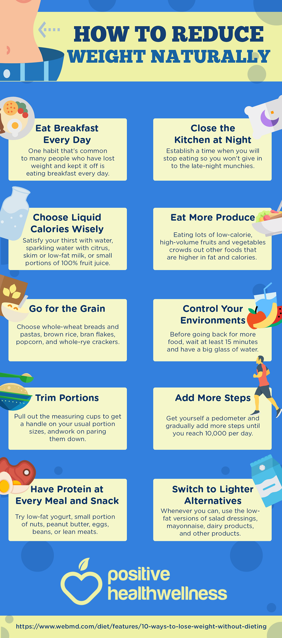 How to Reduce Weight Naturally  Reduce weight, Infographic health