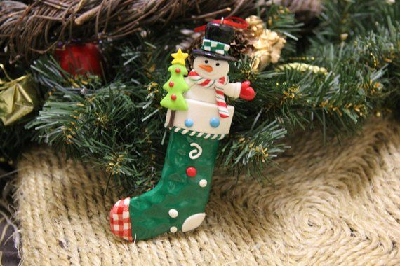Sock Christmas Snowman Bendy Fairy Doll Hand Made Magic Dolls Christmas Tree Decorations Xmas Snowma Snowman Decorations Snowman Christmas Ornaments Christmas Tree Decorations