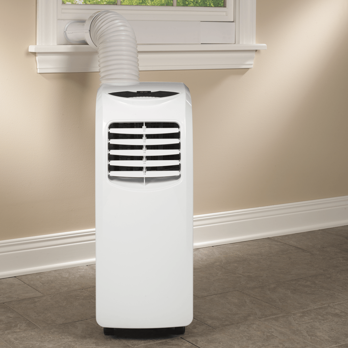Displaying Images Portable Air Conditioner Window Kit