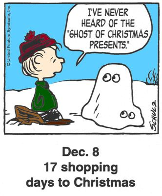 This is a classic countdown panel from 2000 | Snoopy | Pinterest ...