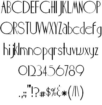 Maharlika Font | ART DECO Fonts | Art deco font, Wedding