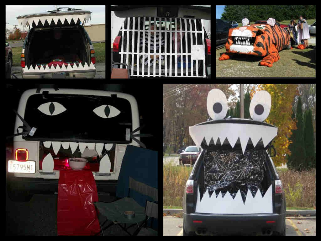 Trunk or Treat Car Decoration Ideas | Halloween Decorations & Crafts ...