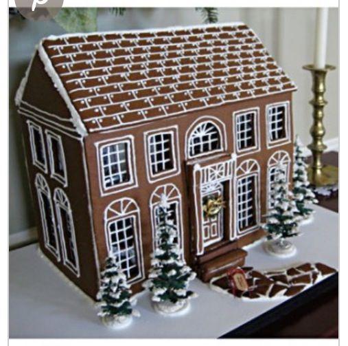 casa de galleta Lovely #gingerbread #house