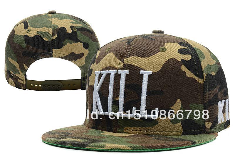 Kill Brand snapback hat Men and woman s fashion camo caps floral hip hop cap  sport snapback hats Free shipping  9.99 c2071f9ce2bc