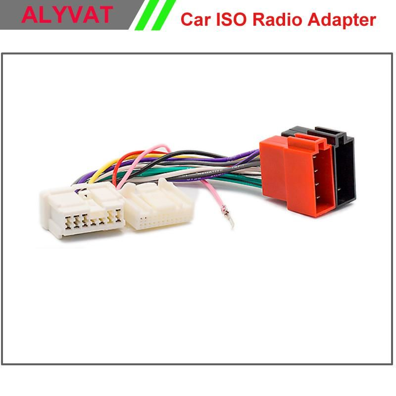 ee6c8f802a833bc5c7d685f778ea4b11 visit to buy] car radio iso wiring harness for renault logan  at bayanpartner.co