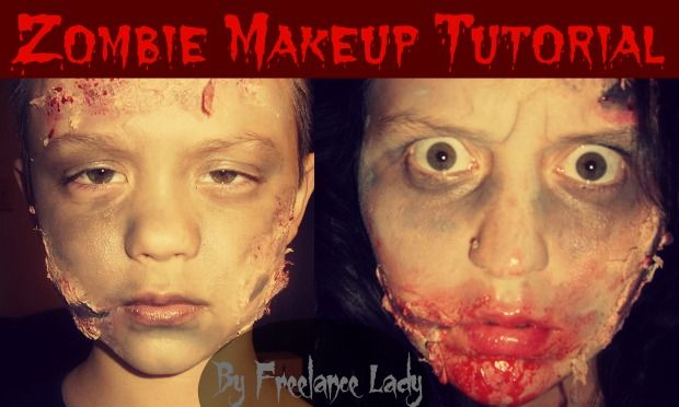 Learn how to make easy money online today get cheap and easy dinner halloween zombie makeup tutorial for kids and adults budget friendly very simple work up an appetite like a zombie and let products help you out solutioingenieria Images