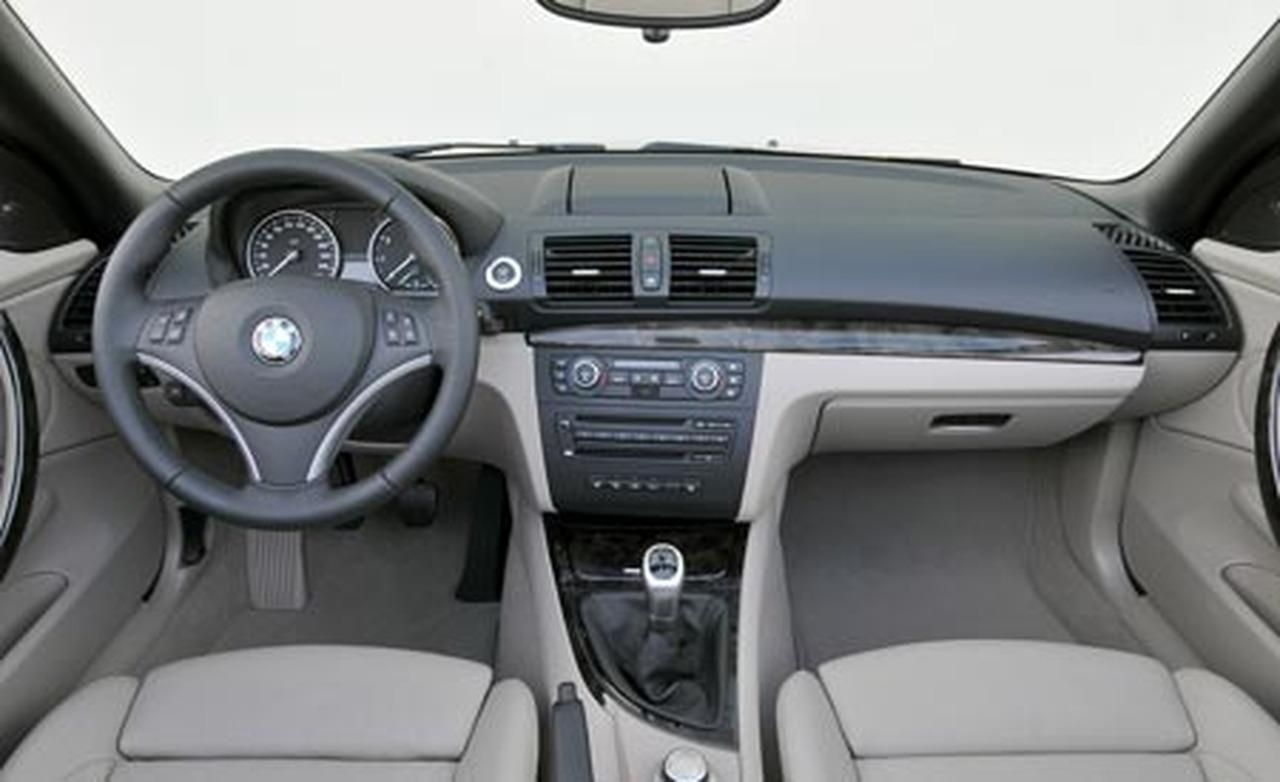 2008 Bmw 128i Interior Wallpaper
