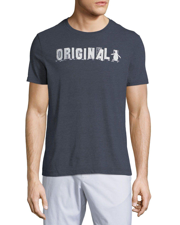 57b60a6d436f ORIGINAL PENGUIN MEN'S ORIGINAL LOGO GRAPHIC T-SHIRT. #originalpenguin  #cloth #