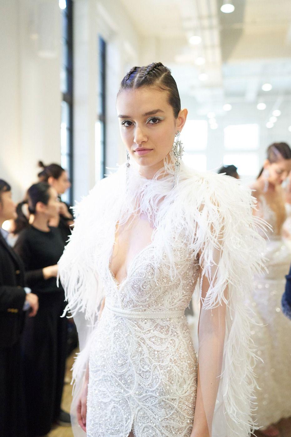 Lace over tulle wedding dress january 2019 Berta SpringSummer   Bridal dresses Wedding dress and Weddings