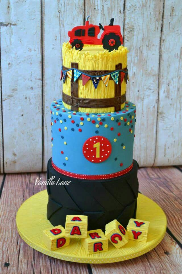 Farm Fresh Country Charm Cake Decorating 1s 2s Boys