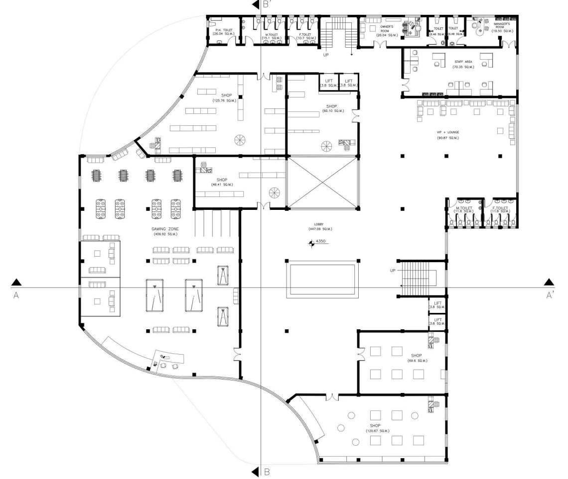 Multiplex Building Plans With Site Rendering Built Archi Building Plans How To Plan Building